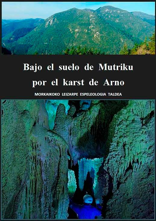 Publicaciones sobre espeleología en Elgoibar y alrededores. Mutriku