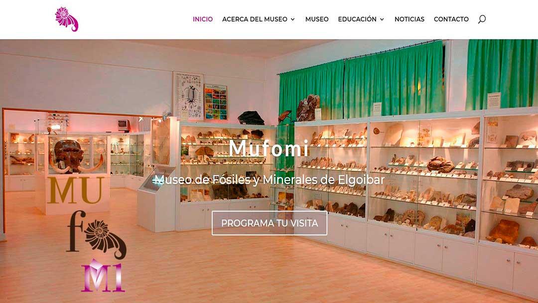 Nueva página web Mufomi