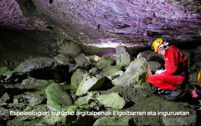 Espeleologiari buruzko argitalpenak Elgoibarren
