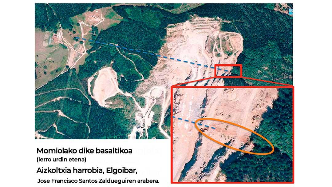 Momiolako dike basaltikoa