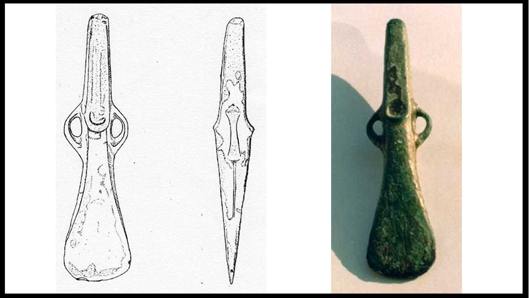 Tres hachas prehistóricas del Bajo Deba