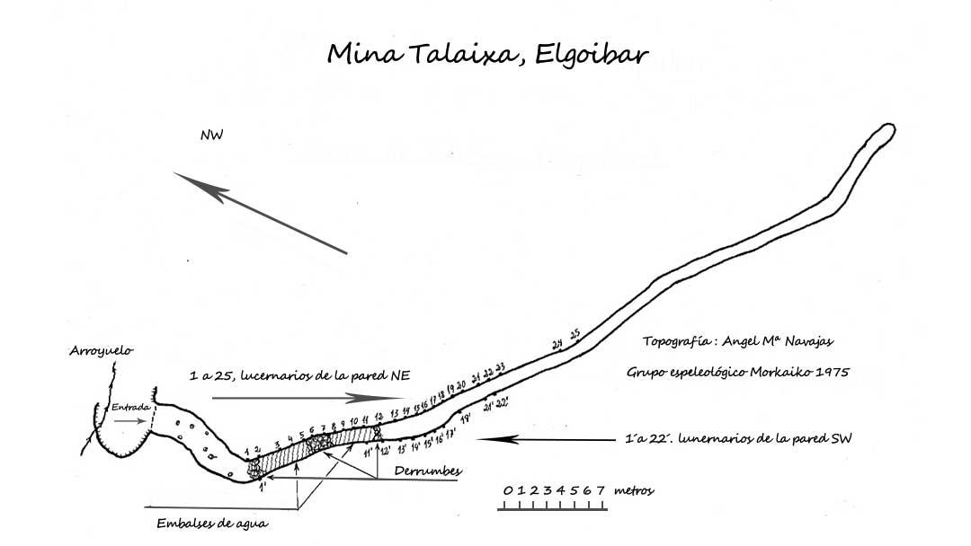 Mina de Talaixa Plano
