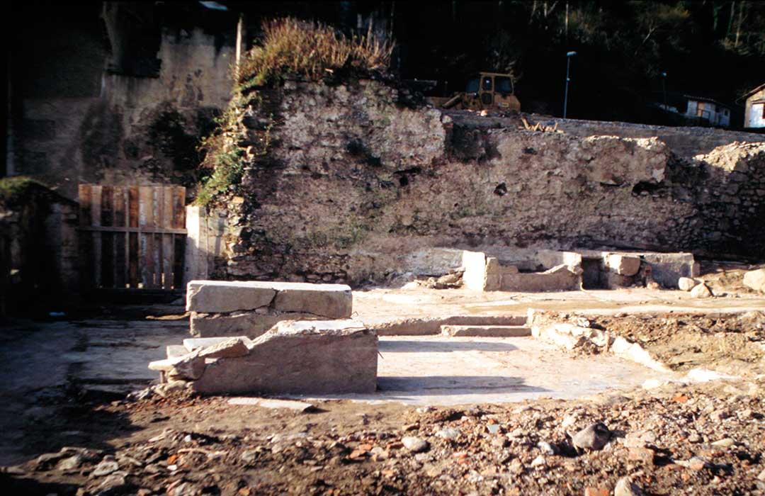 Lavadero del antiguo convento de Santa Clara de Elgoibar