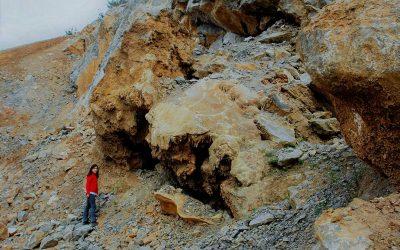 Minerales de Elgoibar 1: La cantera Aizkoltxia